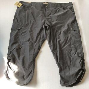 Woolrich Womens Gray Crop Capri Pants Sz 14 A1167
