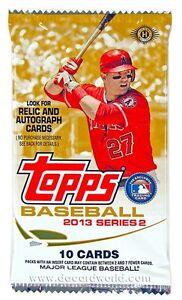 TOPPS-BASEBALL-2013-SERIES-2-1-SEALED-PACK