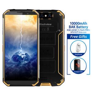Blackview-BV9500-IP68-4GB-64GB-Smartphone-10000mAh-Cellulare-Waterproof-Giallo