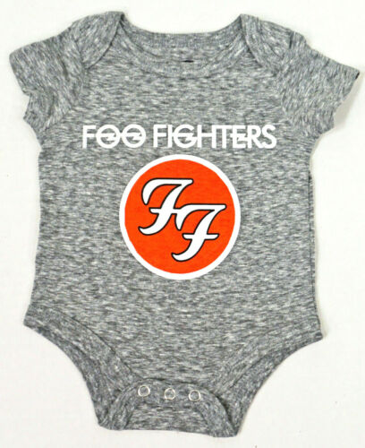 Rock Band 1 Piece Bodysuit Baby Infant Romper Pink Floyd AC//DC Foo Fighters 12m