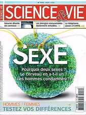 Science Et Vie   N°1043  aout 2004:Special sexe - Anneaux de saturne - Energies