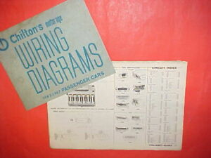 1962 1963 1964 1965 1966 1967 Plymouth Valiant Barracuda Dart Gt Wiring Diagrams Ebay