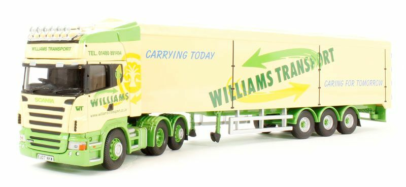 CORGI MODERN Heavy CC13746 SCANIA R Walking Floor Williams 1 50