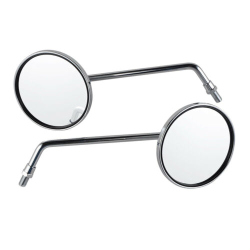 """100mm Mirrors Set Left and Right for Honda M10x1.25mm 230mm 9/"""" P//N 88100-371-980"""