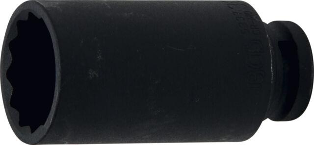 """Douille longue 12 pans 1/2"""" métrique 30mm clé à choc impact qualité pro 30"""