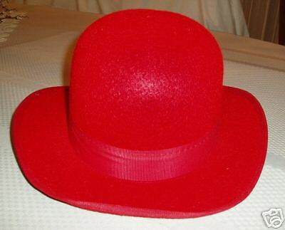 Red Permalux Derby or Bowler Large!