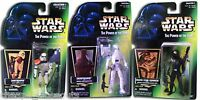 Star Wars The Power Of The Force Action Figurines Discontinued Collectible 3 Pk