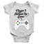miniature 2 - Player 3 Entered The Game Babygrow Video Gaming 3rd Baby Son Gift Present