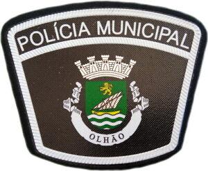Portugal-Departamento-de-Policia-Municipal-de-Olhao-ciudad-Parche-Emblema-Memorabilia-EB01456