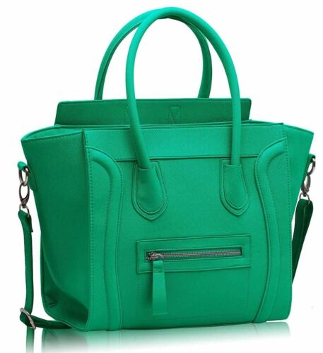 Ladies Women Girls Notebook School Office Work Shoulder Satchel Tote Bag Handbag