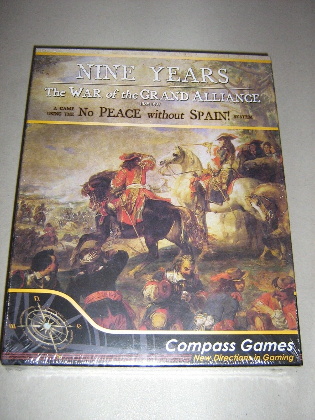 Nine Years  The War of the Grand Alliance 1688-1697 (New)