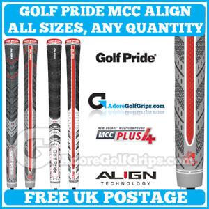 0253ebf7270f1 Golf Pride MCC   PLUS 4 ALIGN Grips - ALL MODELS   SIZES - Quantity ...