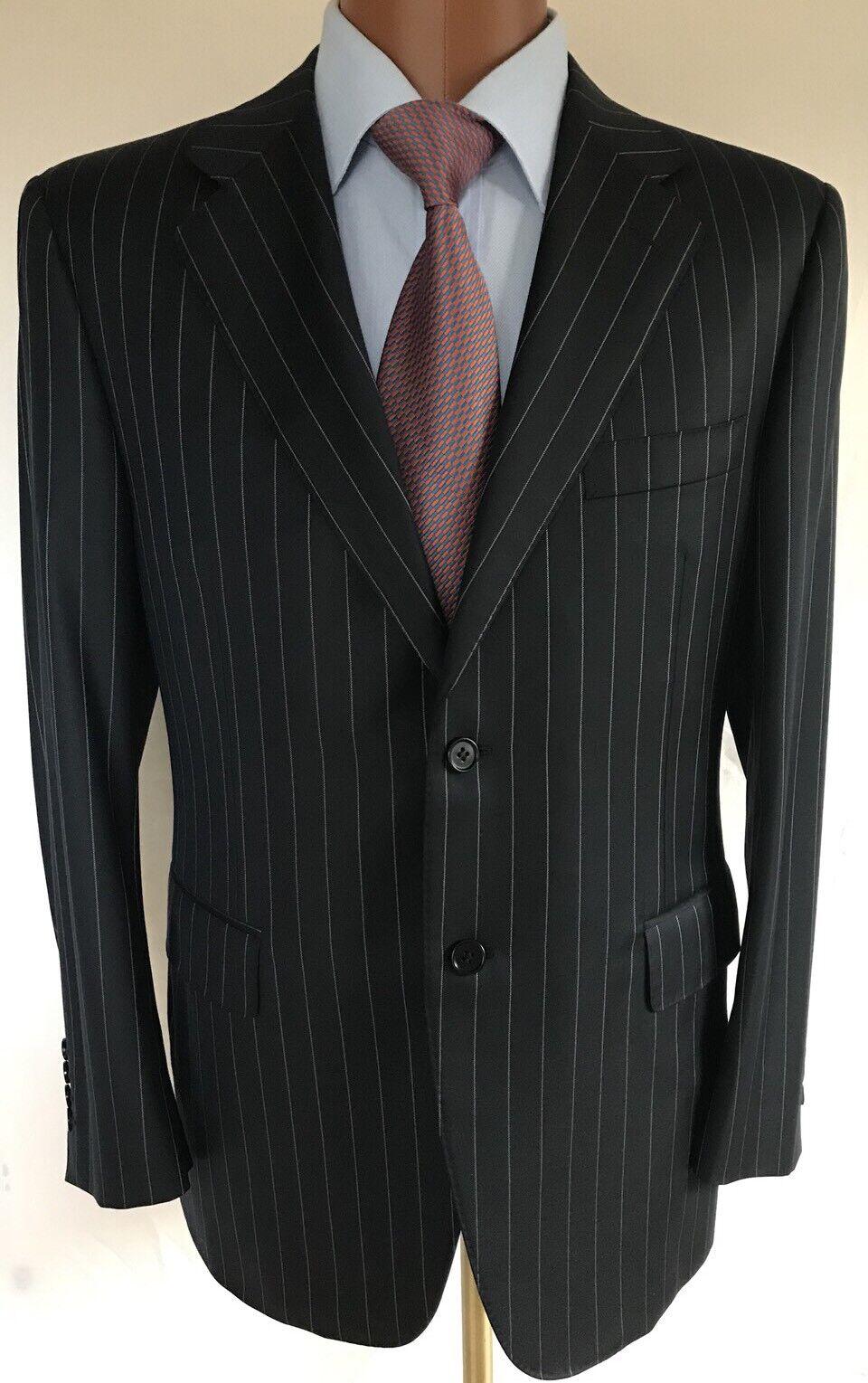 4daeaf19d1 Canali Pin Stripe Suit Size 50 6 C, Please Look Photos For Measurements