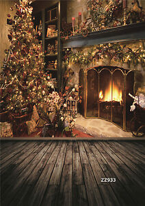 10x20FT Christmas Vinyl Photography Backdrop Background Studio Photo Props ZZ933