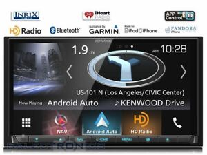 Kenwood-DNX875S-eXcelon-LCD-DVD-Carplay-Car-Stereo-2-DIN-GPS-Navigation