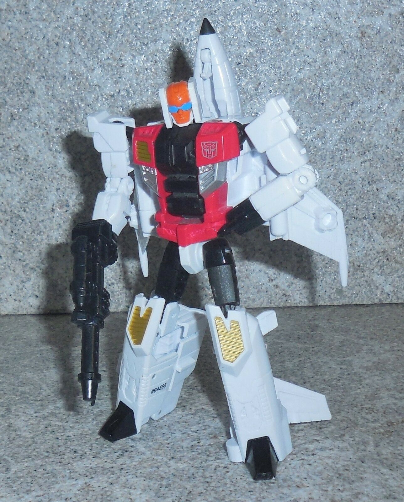 Transformers Combiner Guerre Quickslinger Deluxe Superion