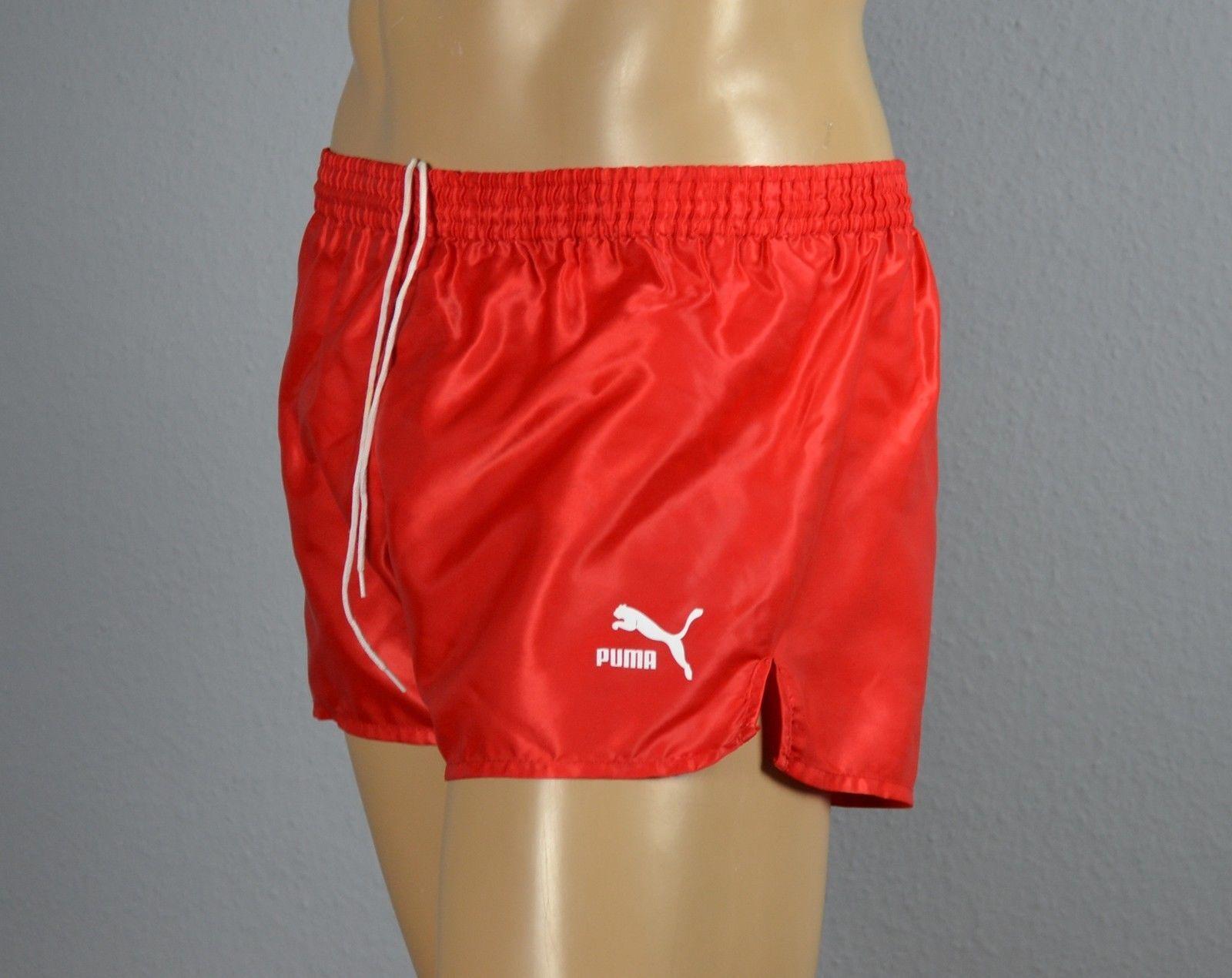 PUMA Glanz Nylon Shorts Sporthose Short red-G. M-5                . (697)