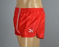 PUMA Glanz Nylon Shorts Sporthose Short Rot-G.L-7           (1242)