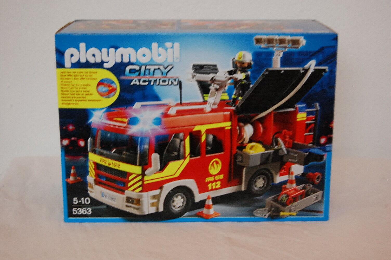PLAYMOBIL - Löschgruppenfahrzeug mit Licht - 5363 Neu OVP