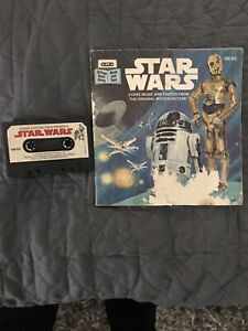 Star Wars /& Tron Vintage Read-Along Book /& Tape New Sealed
