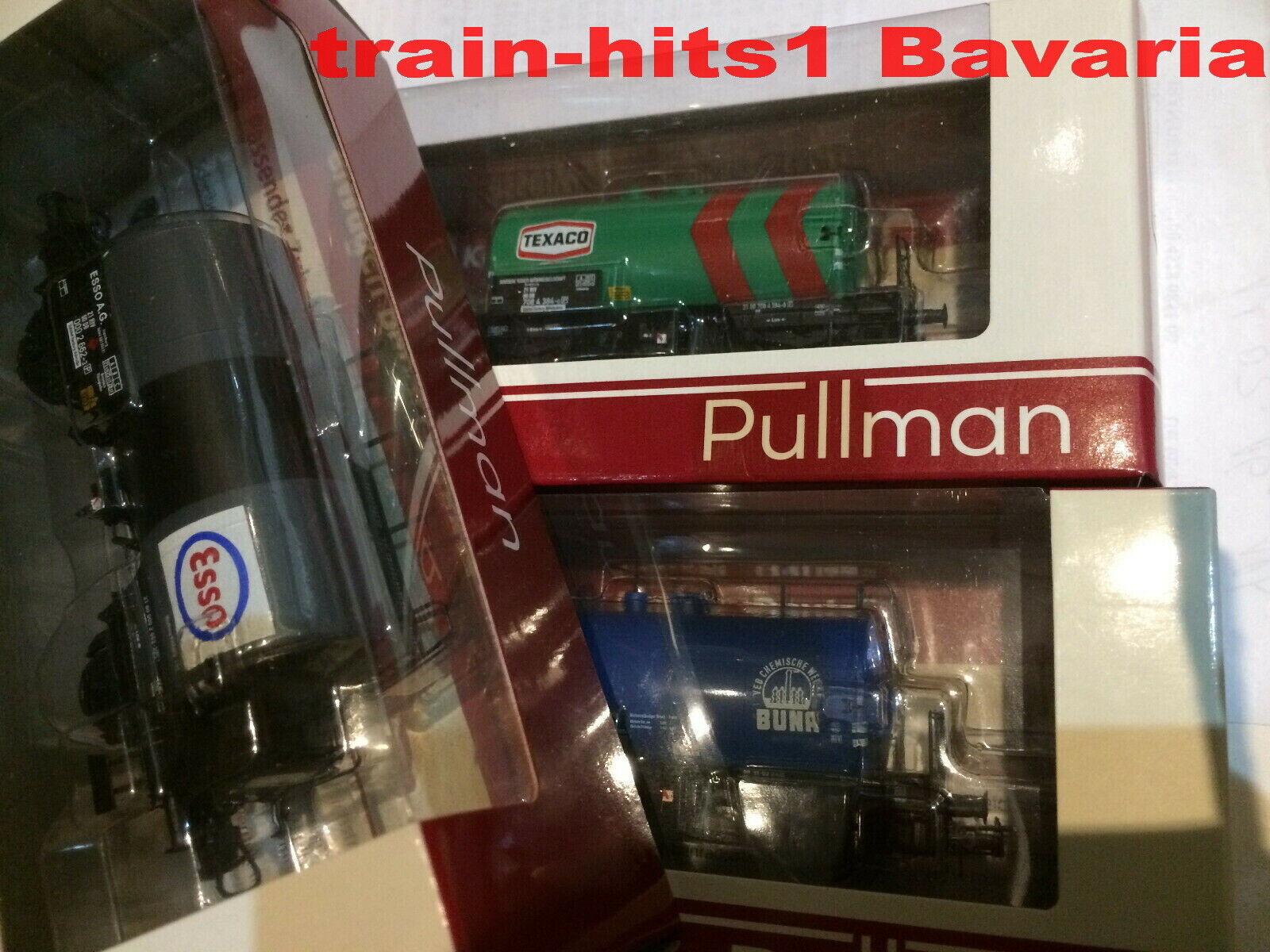 Auswählen  ESU H0 Kesselwagen 2-achs Bauart Deutz, Ep. II   III   IV, DC Pullman