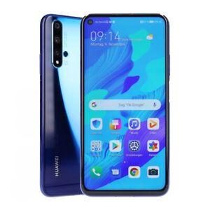 Huawei Nova 5T Dual-SIM 128GB Crush Blue Smartphone geprüfte Gebrauchtware