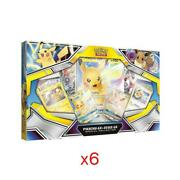 Pokemon Pikachu GX & Eevee GX Special Collection - FACTORY SEALED CASE