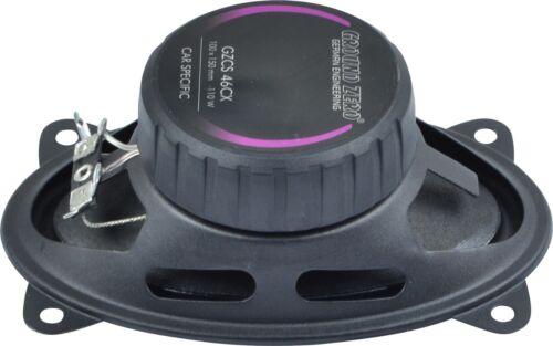 Ground Zero Lautsprecher für FIAT CROMA  1985-1996 Armaturenbrett  vorne