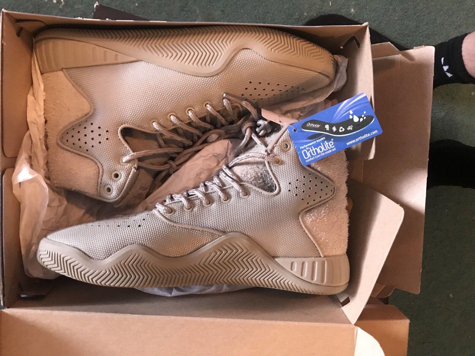 Adidas Tubular BB2386 Mens High Top shoes Desert Green US 9.5  3 New