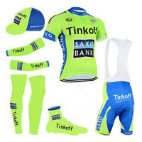 Cycling Jersey Bibs Shorts Saxo Bank Thinkoff Cycling Wear Team Complete Set