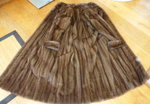 Buff Mink Demi Ranch 49 Coat Manteau de en 49 Buff Demi Brown vison fourrure Brown fur fourrure OOqpxPFvw