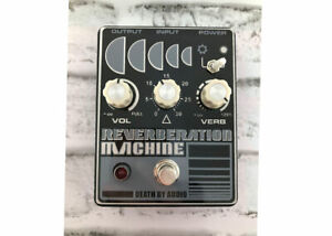 Death-By-Audio-Reverberation-Machine-Reverb-Used-FREE-2-DAY-SHIP