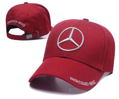 Mercedes-Benz² Logo AMG Car Cap Sport Baseball Hat outdoor Adjustab