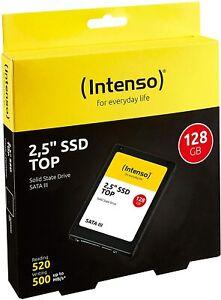 HARD DISK SSD STATO SOLIDO 2,5 INTENSO TOP 128GB SATA III 6Gb/s