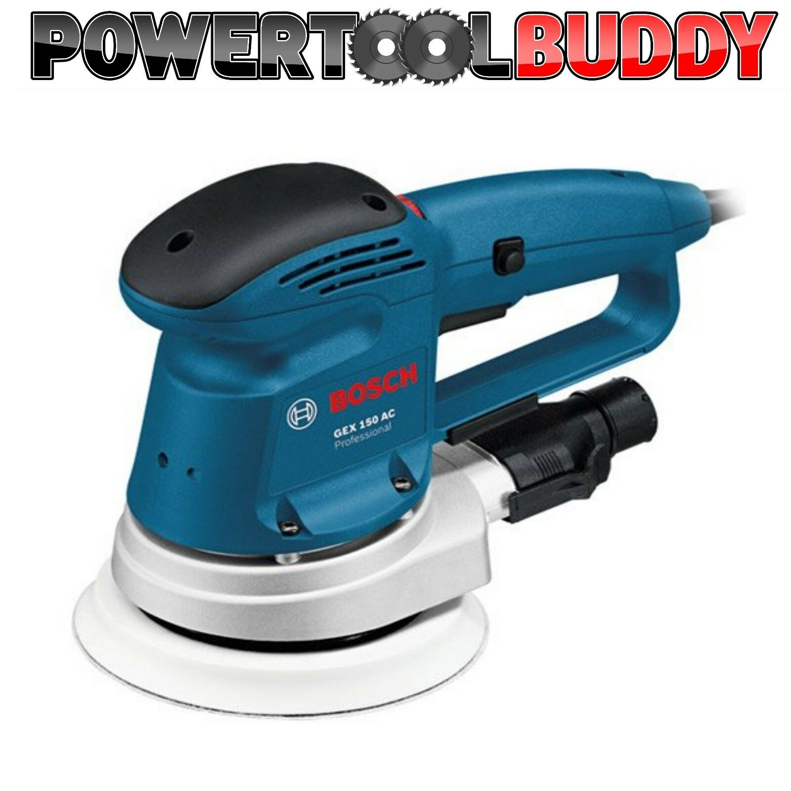 Bosch GEX150AC 150mm Random Orbit Sander 240volt 0601372771 NEXT DAY DELIVERY