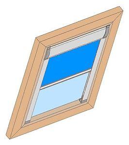 VERDUNKELUNGSROLLO-DKU-Thermostopp-Hitzeschutz-alte-Velux-Dachfenster-VL-VG-VX