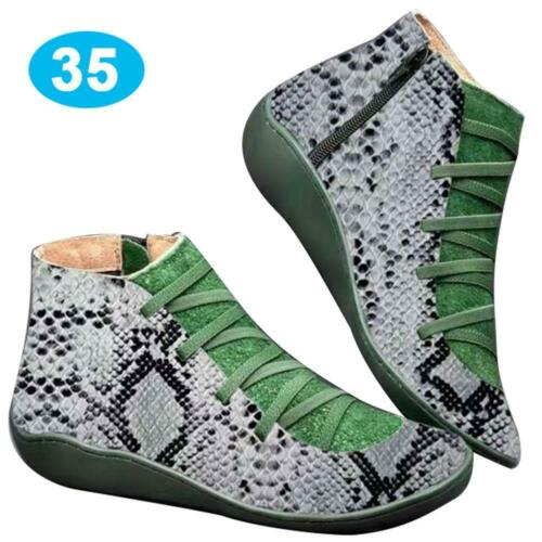Women Autumn Arch Support Boots Multi Colors Hot-Flat-Heel-Boots Casual Fast