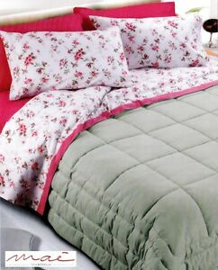 Image Is Loading Set Bed Sheets In 100 Warm Cotton MAYLIA
