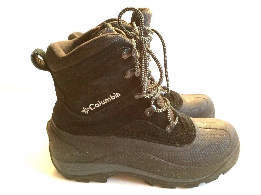Columbia Para Hombre BM1226 Cascadian Cumbre II Resistente al Agua Bota De Nieve Negro D