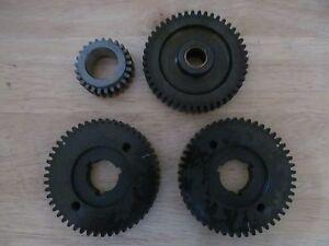 Details about 00-0079 TRIUMPH T120 T140 TR7 BONNEVILLE CAMSHAFT SPROCKET  TIMING GEAR SET ***
