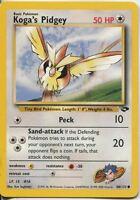 Pokemon Gym Challenge Common Card #80/132 Kogas Pidgey