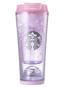 Starbucks Korea 2017 limited edition cherry blossom waterball tumbler (355ml)
