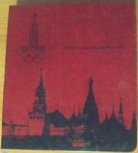 Russia-Moscow-1980-Olympic-Stamp-Program-FDC-Complete