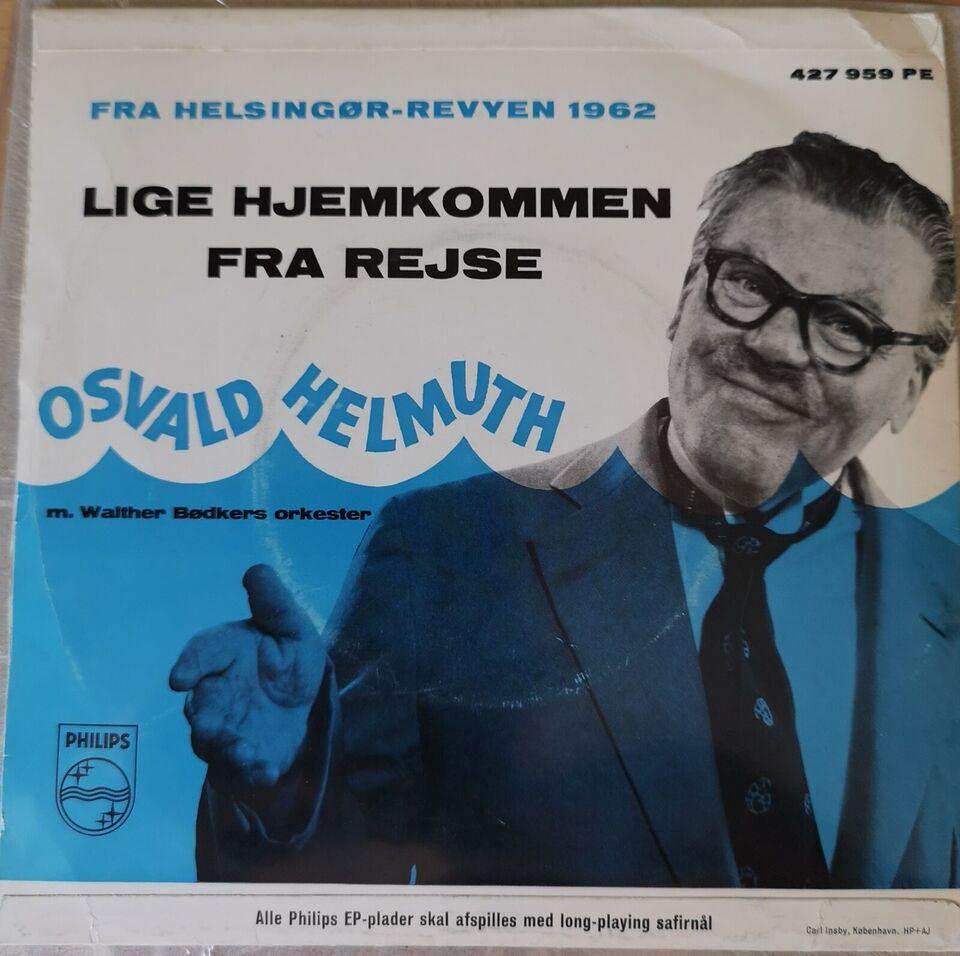 Single, Osvald Helmut, Aldrig - så holder det/ Lige