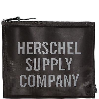 Herschel Network Mesh Pouch Large Tasche Schwarz NEU
