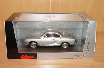 Schuco 450774600 VW Karmann Ghia silber 1:32