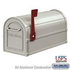 Salsbury Industries Antique Rural Mailbox - Nickel-MAILBOX 4850A-NIC Mail Box