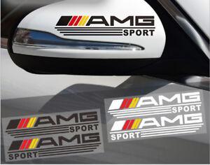 AMG-Logo-Auto-Rueckspiegel-Aufkleber-Persoenlichkeit-Dekoration-fuer-Benz