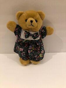 Teddy-Bear-With-Blue-Floral-Dress-11-GUC