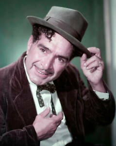 OLD-CBS-RADIO-PHOTO-Color-Portrait-Of-J-Carrol-Naish-As-The-Character-Luigi